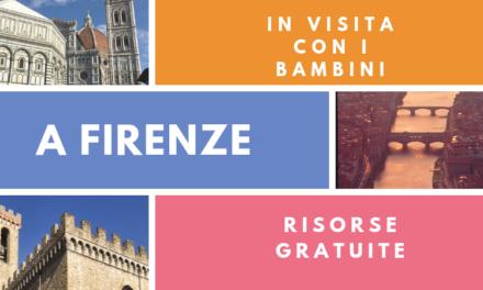Firenze con i bambini risorse gratuite per una visita in famiglia