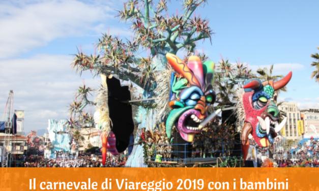 Il carnevale di Viareggio 2019 con i bambini