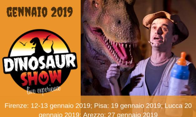 I dinosauri invadono la Toscana